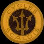 Timbre-monnaie Cycles Scaldis - Allemagne - briefmarkenkapselgeld