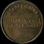 Timbre-monnaie Luther H.Whitt - 10 cents - avers