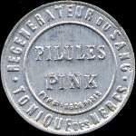 Timbre-monnaie Pilules Pink type 1