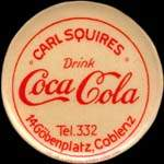 Timbre-monnaie Coca-Cola - Carl Squires - Allemagne - briefmarkenkapselgeld